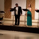 Brennen Guillory as Alfredo, Janene Nelson as Rosalinde, and Kevin Helppie as Frank